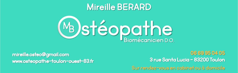 Mireille BERARD, Ostéopathe D.O.